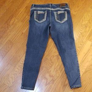 Maurice's skinny leg stretch jeans